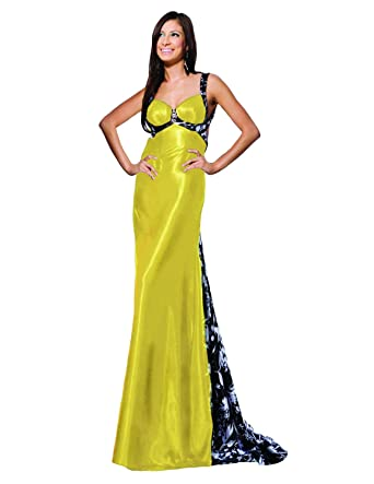 Tony Bowls 19726 Prom Dress, Yellow, 6