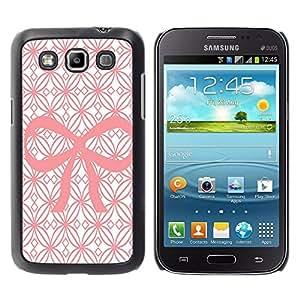 - Pinky Bow - - Monedero pared Design Premium cuero del tirš®n magnšŠtico delgado del caso de la cubierta pata de ca FOR Samsung GALAXY Win I8550 I8552 Funny House