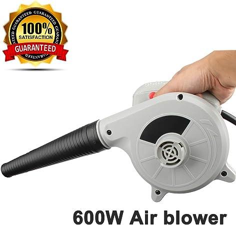 DUST REMOVAL 600W 220V-240V Soplador electrico Aspirador soplador Soplador de Aire 2 en 1 Limpiador de colector de Polvo de computadora: Amazon.es: Hogar