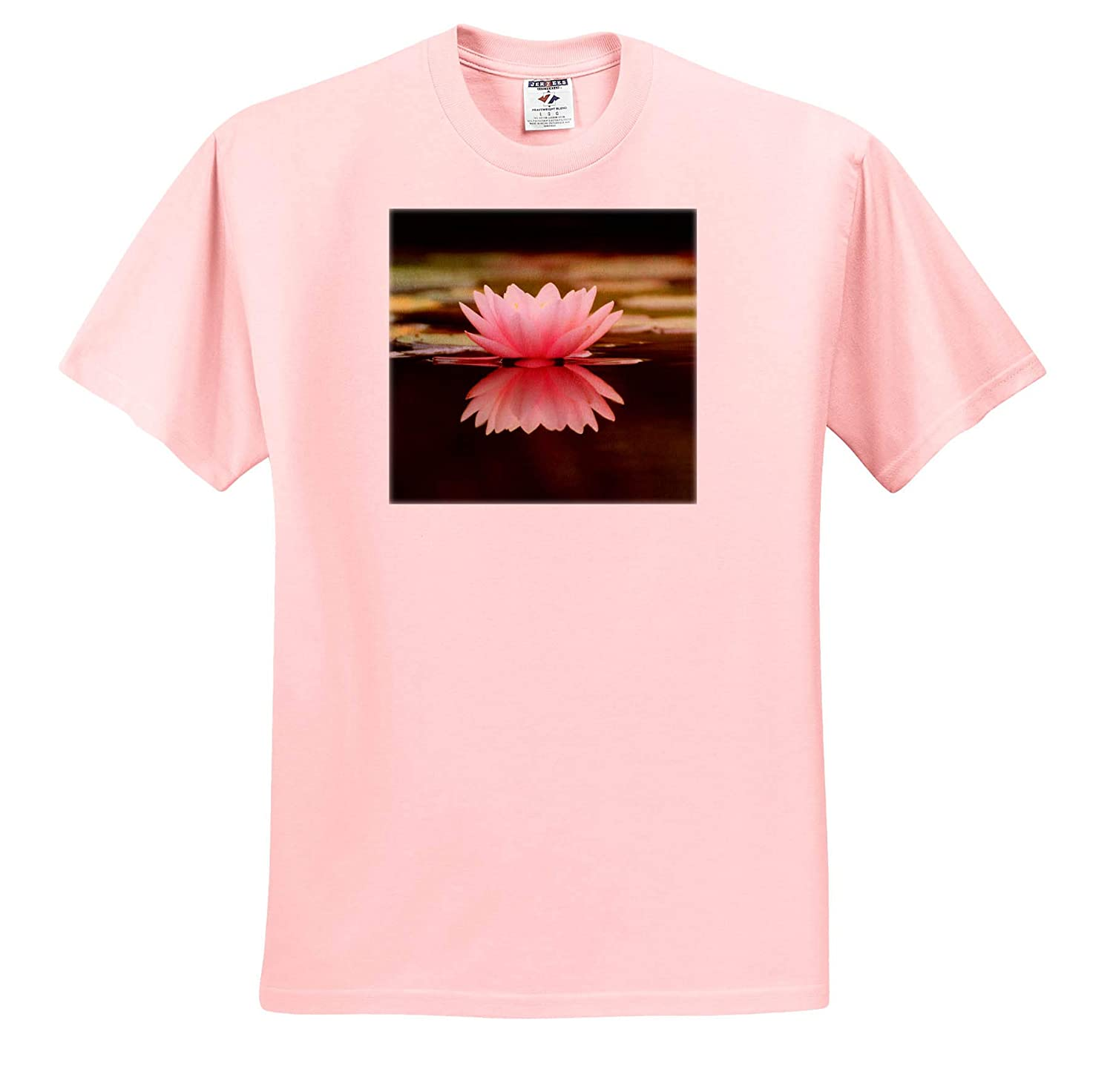 Adult T-Shirt XL Lotus 3dRose Cassie Peters Photography ts/_314203