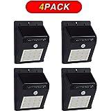 AZALCO 16LED Motion sensor Solar Light Outdoor (4pack)