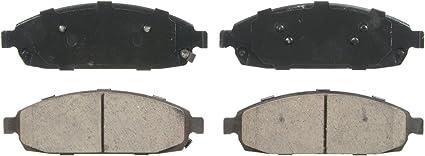 Disc Brake Pad Set-QuickStop Disc Brake Pad Front Wagner ZD1280
