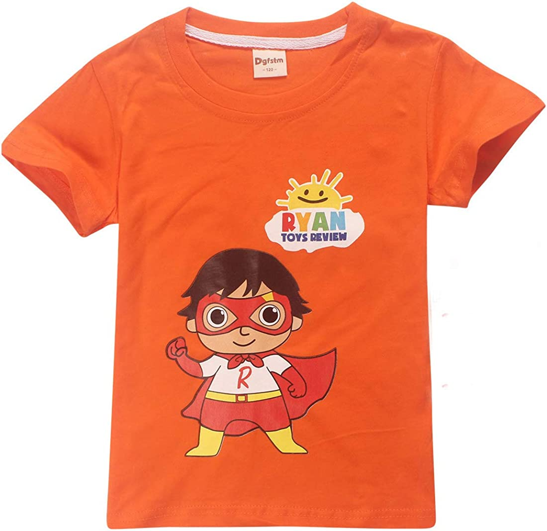 Tops Tees Blouses Dgfstm Ryans World Youtube Merch Ryan Toys Review Kids T Shirts Cartoon Tees Clothing Accessories Elektroelement Com Mk