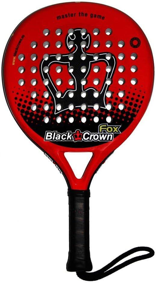 Pala Padel Black Crown Fox