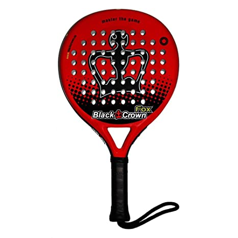 Pala Padel Black Crown Fox: Amazon.es: Deportes y aire libre