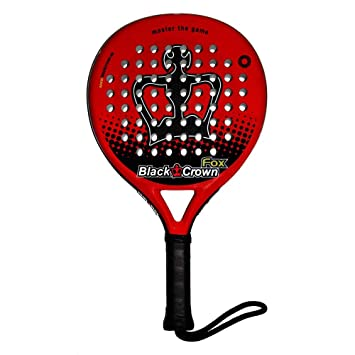 Pala Padel Black Crown Fox: Amazon.es: Deportes y aire libre