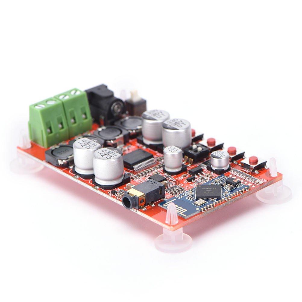 FidgetFidget Amplifier Board S TDA7492P 50W+50W Wireless Bluetooth 4.0 Audio Receiver Digital