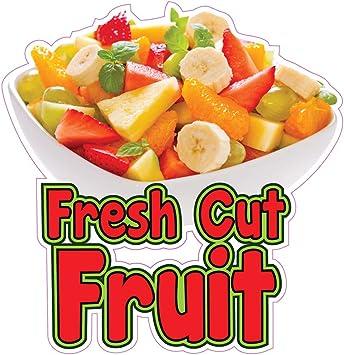 "Garden Fresh Salad 14/"" Concession Restaurant Food Truck Vinyl Menu Sign Decal"