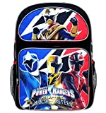 Saban's Power Rangers 16 inch Backpack with Side Mesh Pockets