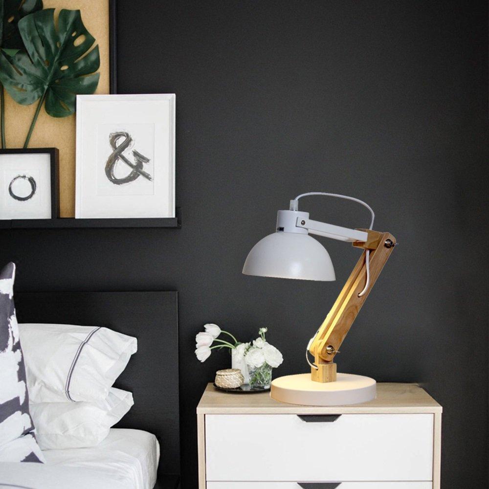 Meuble Salle De Bain Mvm ~ lampe de table scandinave minimaliste peinture blanc lampe de table