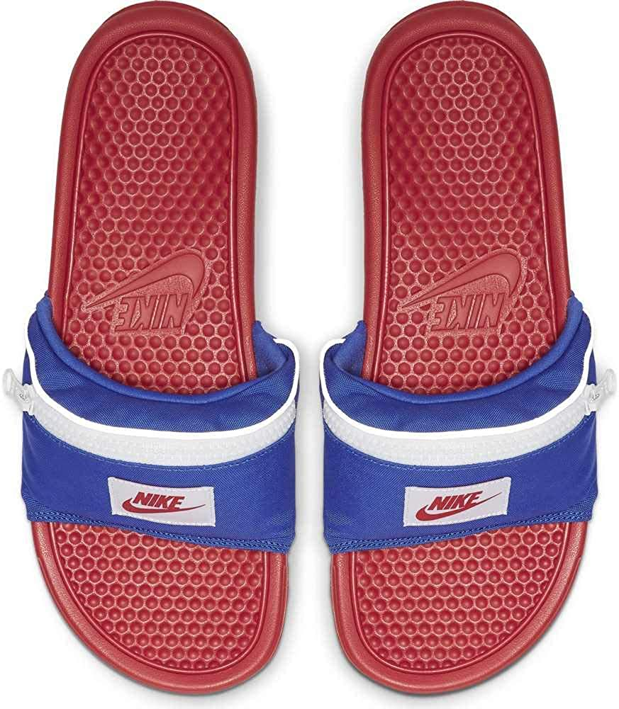 Chanclas Nike Benassi JDI Fanny Pack Rojo 36: Amazon.es: Zapatos y complementos