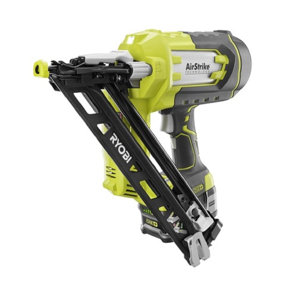 Ryobi P330 18V ONE Angled 15 Ga Finish Nailer Battery and Charger Not Included