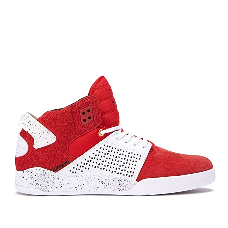 Marques Chaussure homme Supra homme Skytop III RED - WHITE SPECKLE-M