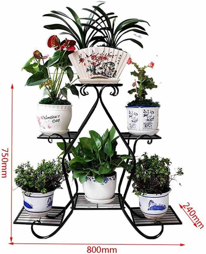 Soporte de exhibición de la flor de la planta 5 macetas Planta de ...