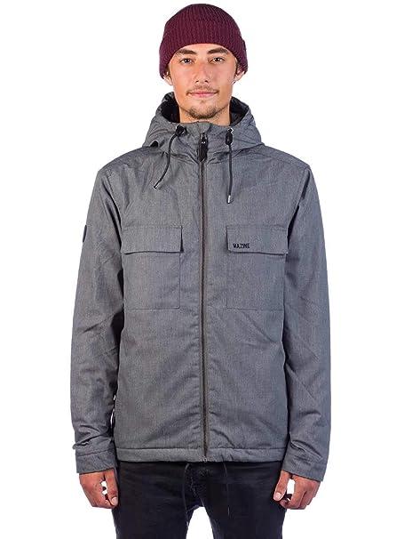 MAZINE Chaqueta Hombre Stainfield Jacket Ropa de Abrigo Streetwear - Color: Grey Melange