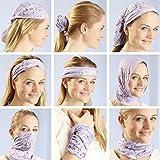 KALILY 12-in-1 Headwear Head Wrap Sport Headband