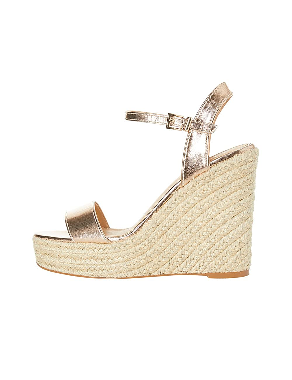 8faa545e785 Lipsy Women's Espadrille Gold Size: 4 UK: Amazon.co.uk: Shoes & Bags