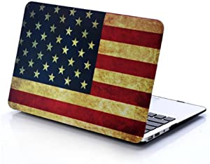 "Lottory Serie 11 Inch Hard Case Cover for Apple MacBook Air 11.6"" (Models: A1370 A1465) Shell Cover - (American Flag)"