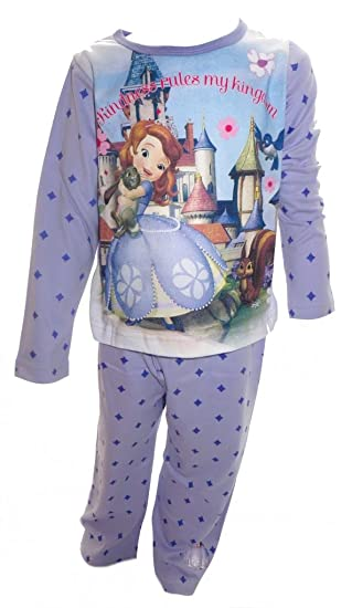 c7687c6b08 Amazon.com  Sofia the First Disney Little Girl s Pyjamas Age 2-3 ...