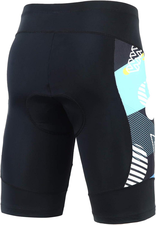 Mens Cycling Shorts 3D Coolmax Padded Bike Shorts