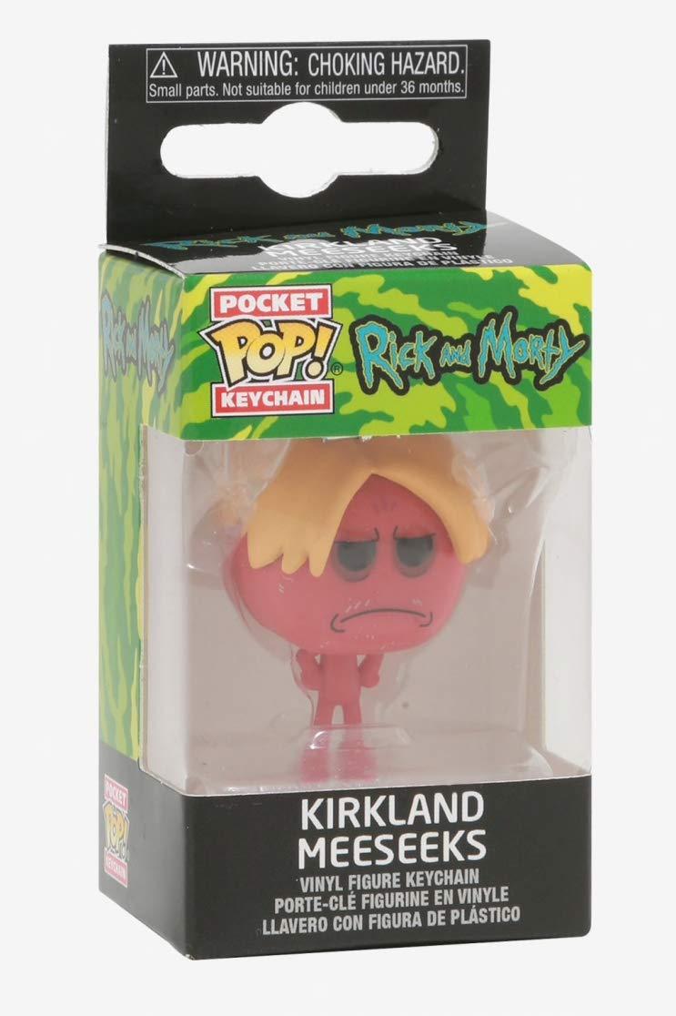 Amazon.com: Rick and Morty Kirkland Meeseeks Pop! Vinyl ...