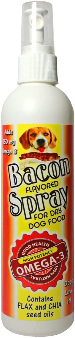 Bacon Spray Dry Dog Food