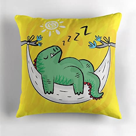 Iota Illustration Dinosnore - Funda de cojín para dinosaurio ...