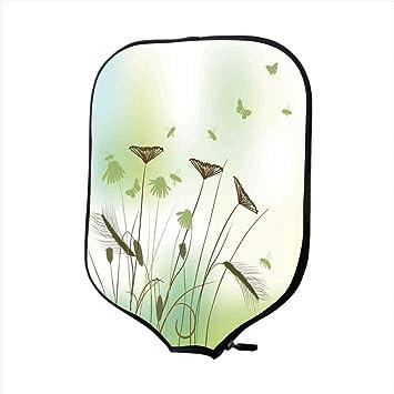 Funda para pala de pílice de neopreno, mariposa, silueta de ...