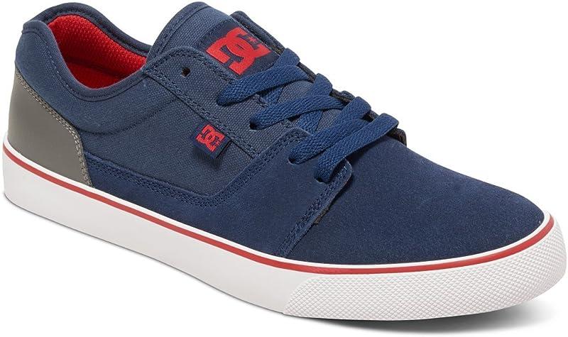 DC Shoes Tonik Sneakers Skateboardschuhe Herren Damen Unisex Erwachsene Marineblau/Grau