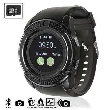 Silica DMV023BLACKSD16 - Smartwatch Bluetooth con sim y ...