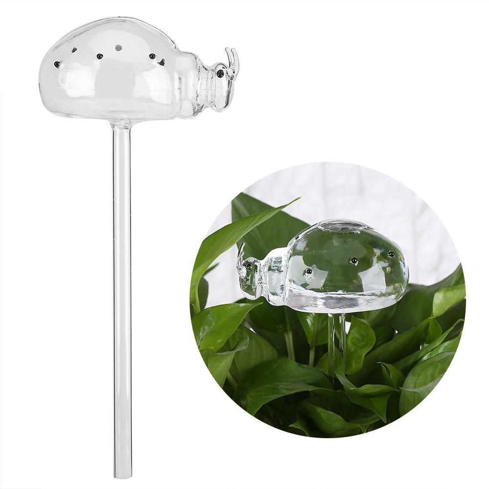 Automatische Gießen Gerät Glas Bewässerungshilfe Blumen Gießen Glas Sprinkler für Garten Blume Pflanze 4 Muster (4 Stück) GOTOTOP