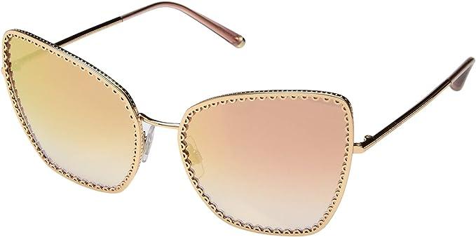 Dolce e Gabbana 0DG2212, Gafas de sol para Mujer, Pink Gold ...
