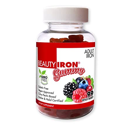 BeautyFit BeautyIron Iron Gummies For Women, Support for Healthy Iron  Levels and Energy without