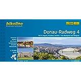 Bikeline Donau-Radweg 4. Ungarn, Kroatien, Serbien. Von Budapest nach Belgrad: 570 km. Radtourenbuch und Karte 1 : 75 000, wetterfest/reißfest, GPS-Tracks Download
