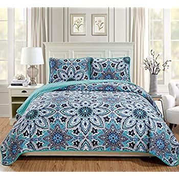 Amazon Com Linen Plus King California King 3pc Over Size