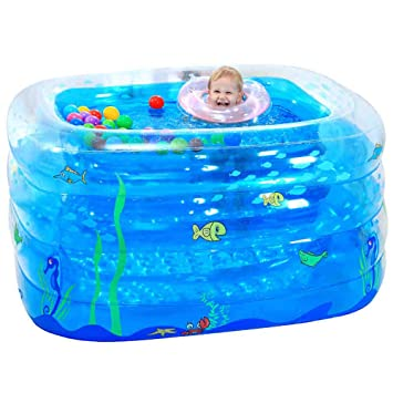 Amazon.com: ZDYG - Piscina hinchable para bebé, piscina ...
