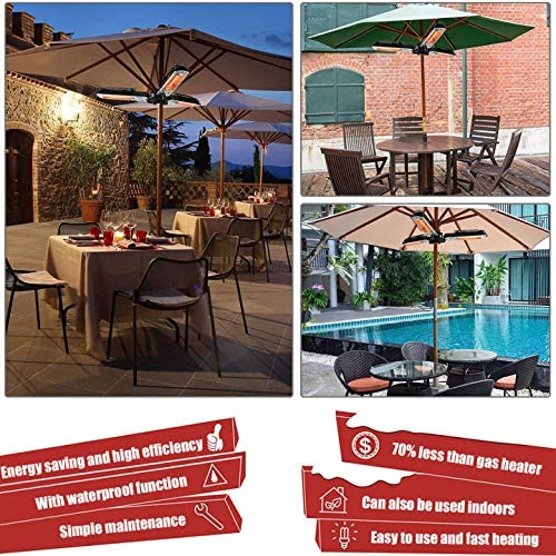 LIRUI Electric Patio Umbrella Heater