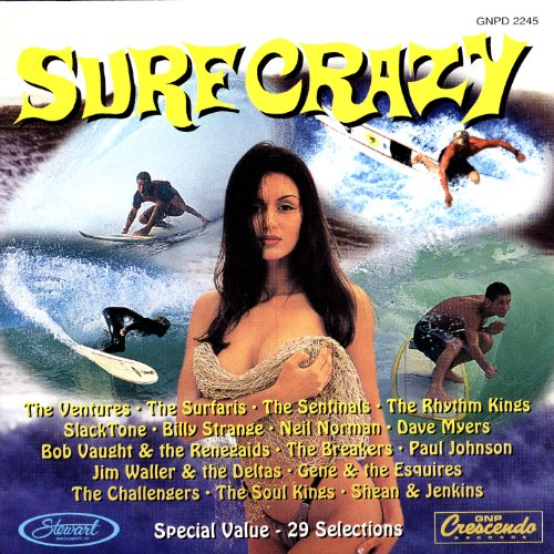 Surf Crazy - Original Surfin' Hits