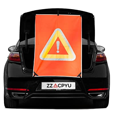 ZZACPYU - Secondary Accident Prevention Safety Sign Reflector Warning Triangle Passenger Cars/SUV Rescue Goods Car Supplies Emergency Supplies (SUV): Automotive