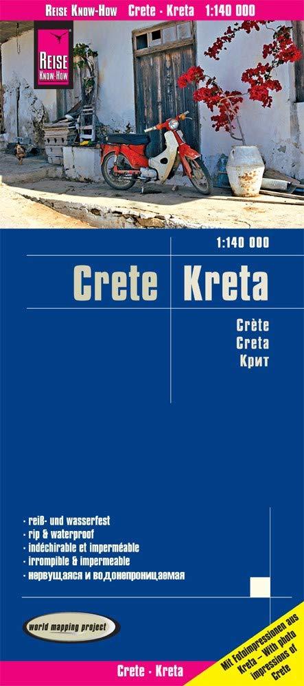Reise Know How Landkarte Kreta Crete 1 140 000 Reiss Und