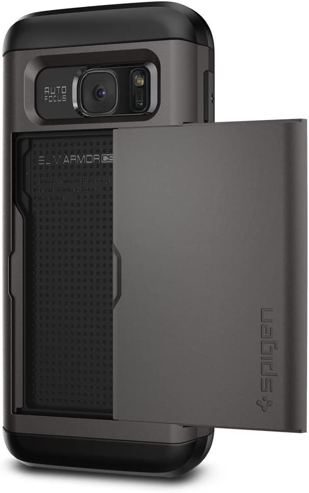 Spigen Slim Armor CS Designed for Samsung Galaxy S7 Case (2016) - Gunmetal