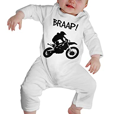 24fdaa236c9 Amazon.com: Toddler Baby Boy Girls Cute Dirt Bike - Motocross-1 Custom  Romper Jumpsuit Bodysuit: Clothing