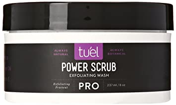 Tuel Skincare Power Scrub, 2.5 Ounce Yes To Grapefruit Daily Facial Scrub, 1 Oz