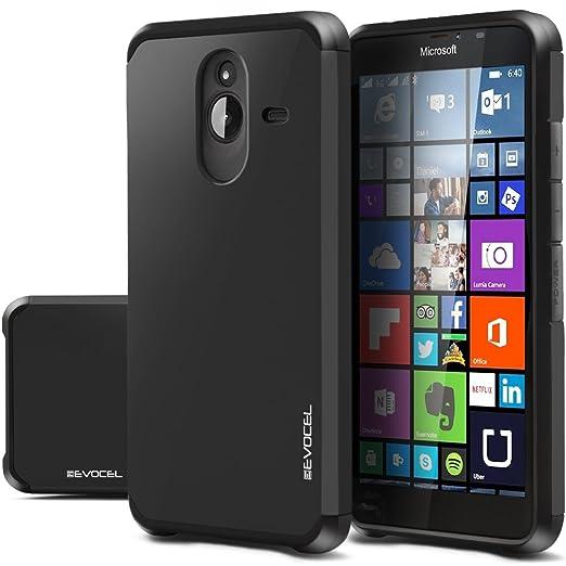 2 opinioni per Evocel® Custodia per Nokia Lumia 640XL [serie a doppio strato], custodia ibrida