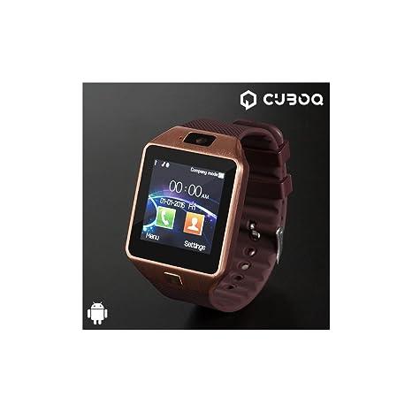 CuboQ Copper - Smartwatch Inteligente (Memoria de 32 M RAM y ...