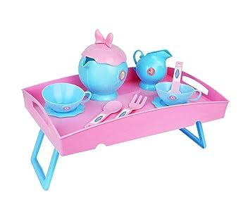 087107 Carrito de té con motivo de Frozen 2 en 1 con bandeja extraíble: Amazon.es: Juguetes y juegos