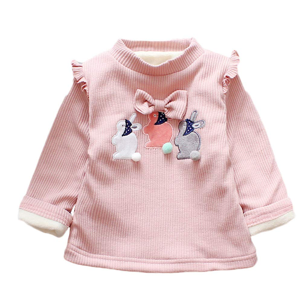 FeiliandaJJ Kids Toddler Infant Baby Boys Girls Cartoon Animal Printing Pullover Tops Sweatshirts Tracksuit Clothes Blouse