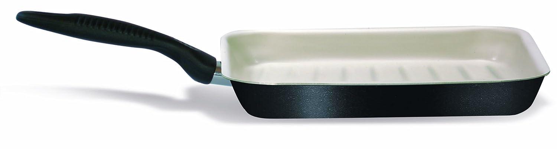 HAKKU Hair Iron Silex Company Ecoceram Black Bistekcaria Steak Exclusive Steel Plate 28 cm Medium Clear ELECONCE SLX21730