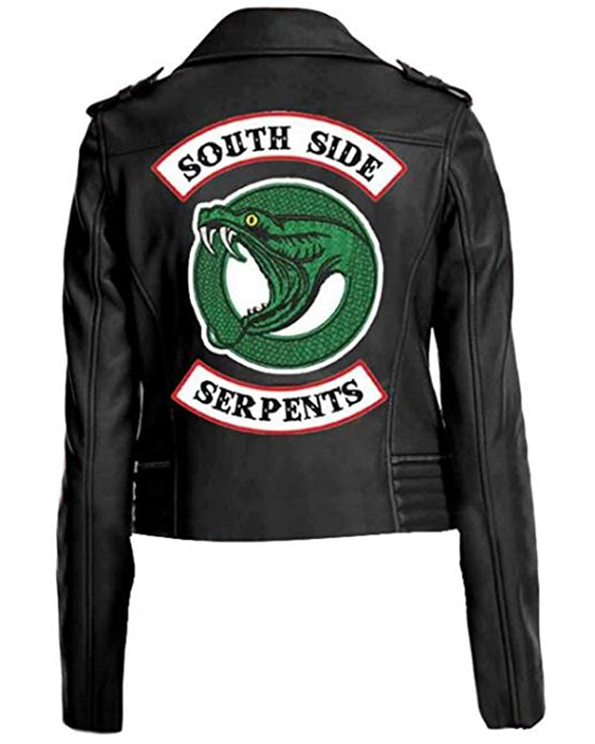 XXS-5XL Riverdale Giacca Shop House Riverdale Southside Serpents Cheryl Blossom Giacca per Donna in Ecopelle Southside Serpents Giacca