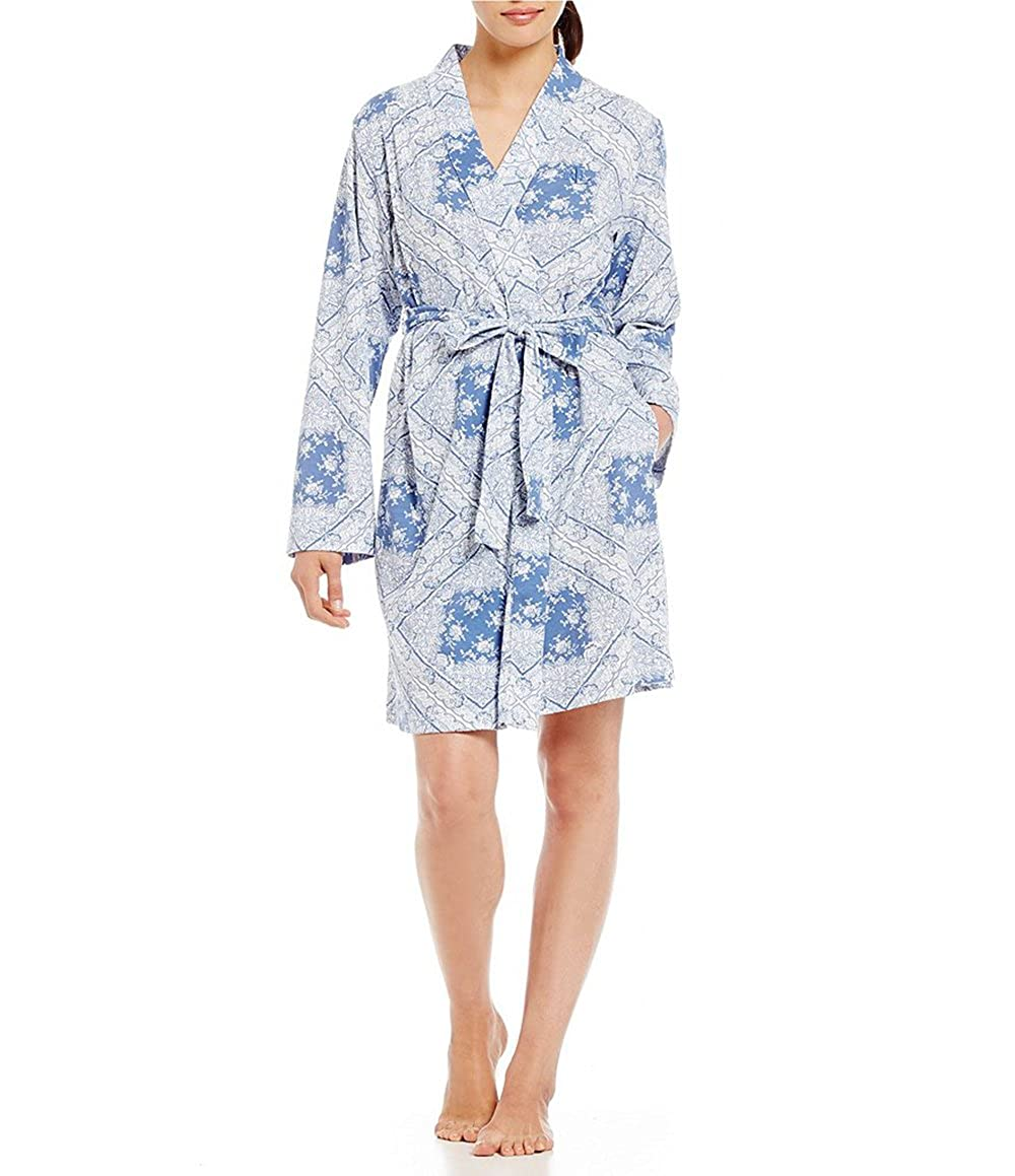 variety of designs and colors latest fashion best value Lauren Ralph Lauren Bandanna Kimono Wrap Robe 60% Cotton 40 ...